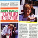 Making of The Reflex video (1984)