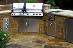Durance Plumbing installs outdoor kitchens