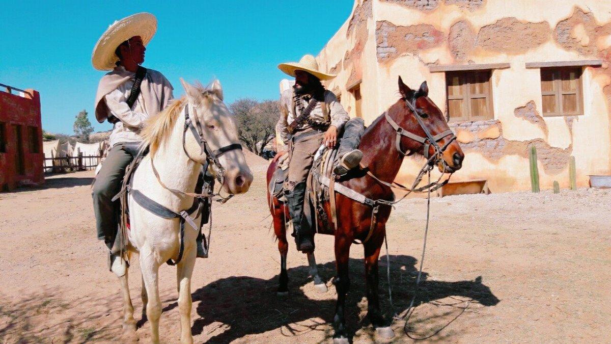 paseo del viejo oeste