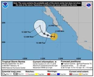 tormenta tropical norma