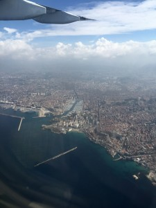 flight into marseille