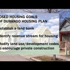 Finally, a Formal Housing Program