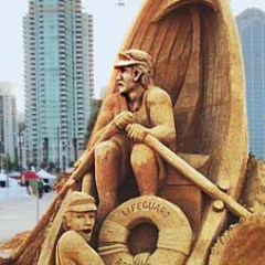 US Sand Sculpting Challenge, Labor Day Weekend, San Diego