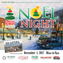 Noel Night & 12 Days of Shop Local Events!