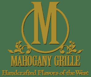 mahogany grille logo