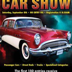 10th Annual Car Show – September 8th