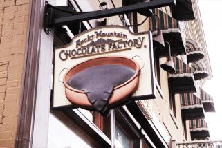 Free Chocolate Franchise Awaits Successful Senior