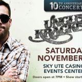 Uncle Kracker, live in concert!