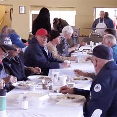 Elks Host Semi-Monthly Breakfasts for Vet Programs