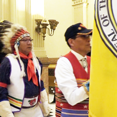 Ute Tribes Honored at State Capitol