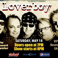 Loverboy – Saturday May 18
