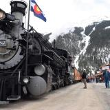 D&SNG Railroad is rolling from Durango to Silverton!