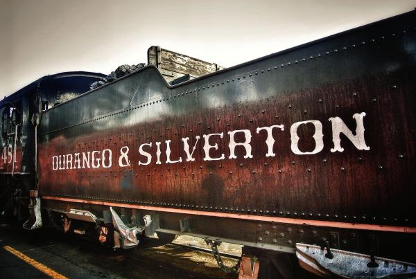 durango silverton train engine