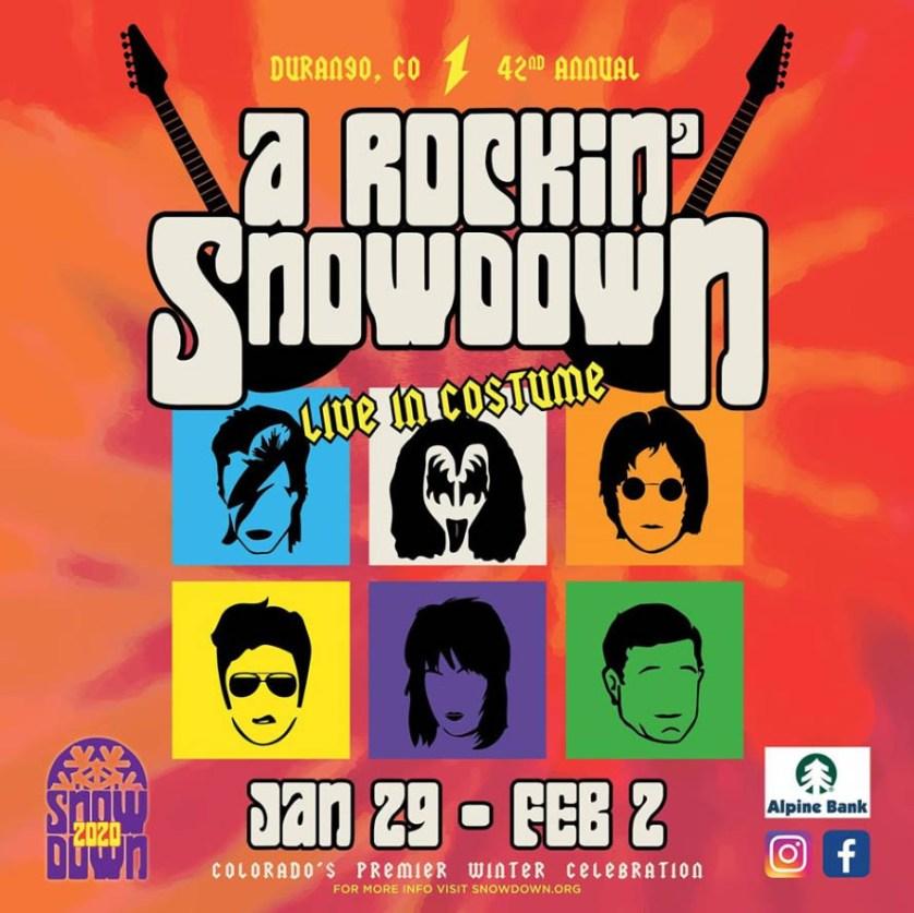 snowdown 2020 theme poster