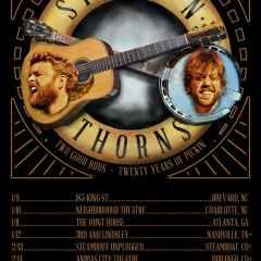 Sticks N' Thorns on Tour Winter 2020