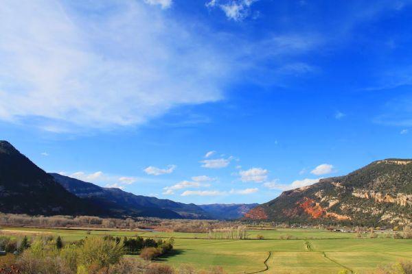 Spring View of North Animas Valley Durango, Colorado
