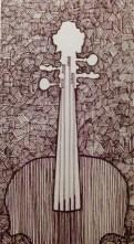 Cello Etching