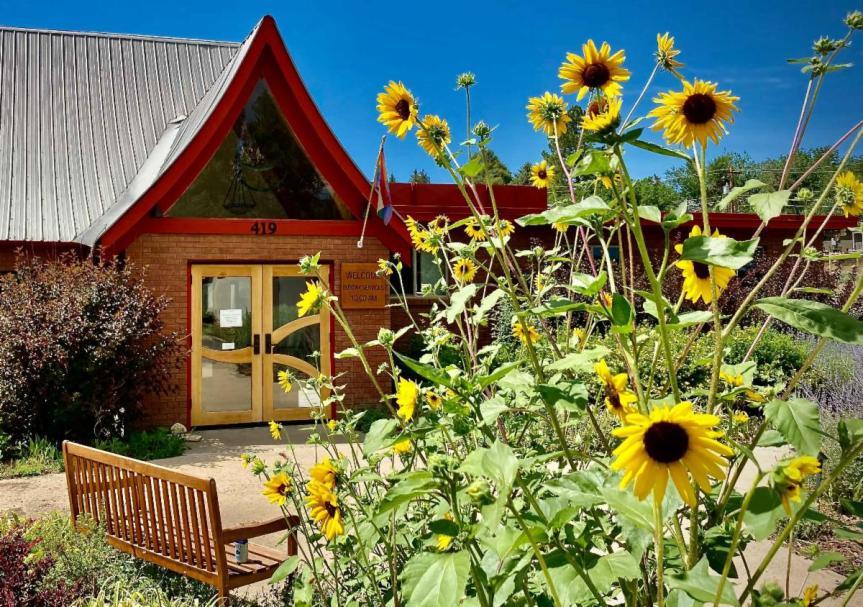 UUFD Church Entry in Summer