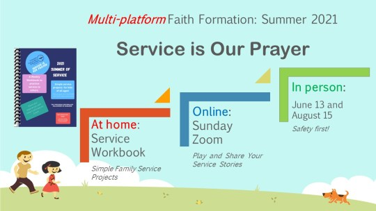 Multi Platform Faith Formation at UUFD