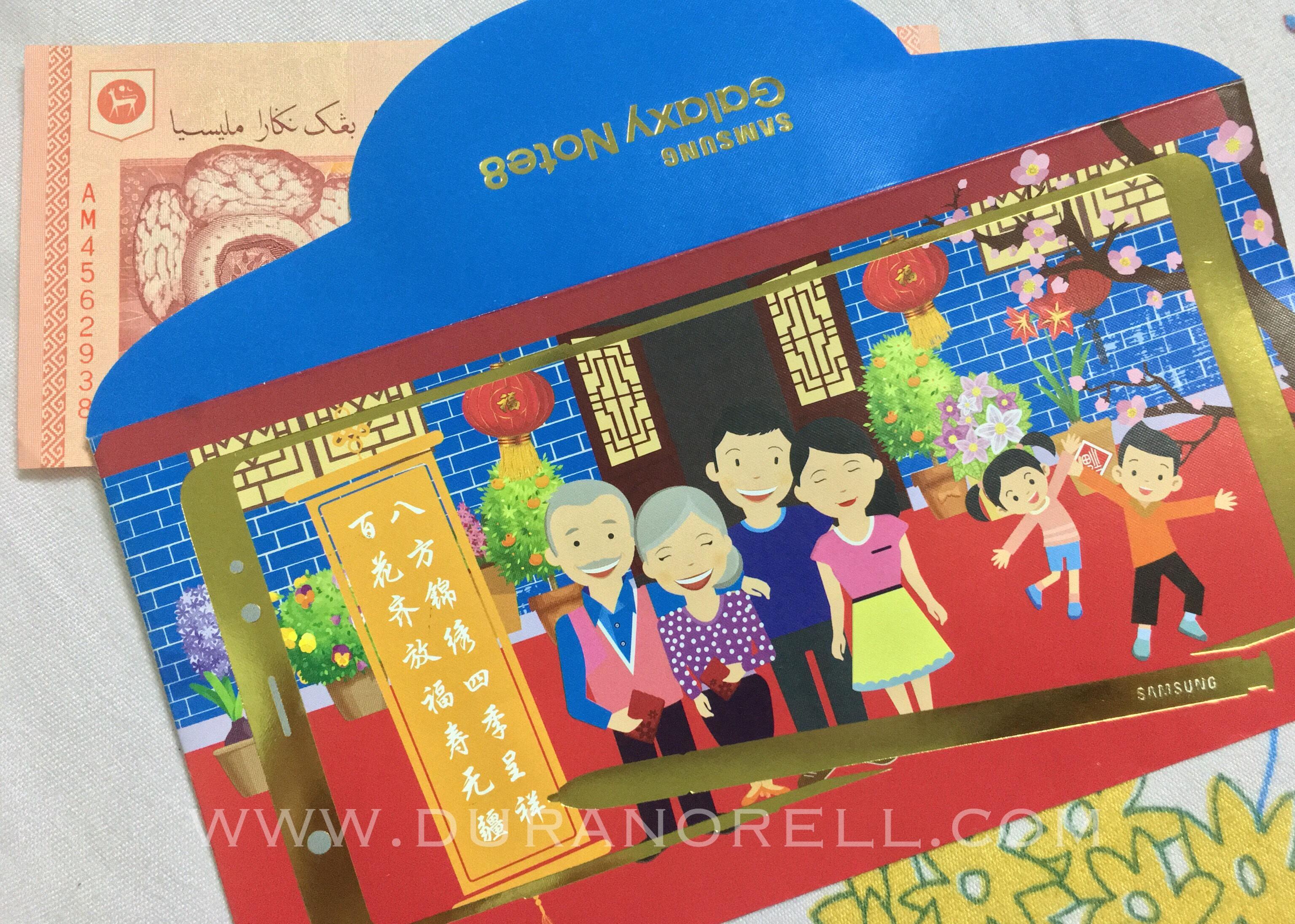 Duranorell.com | Chinese New Year Angpow, Angpow Raya Cina, CNY2018