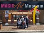 Bergambar ilusi di Magic 3D Art Museum Melaka