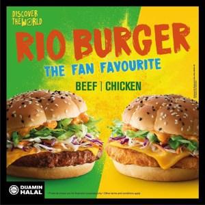 Duranorell.com| Harga Set Burger Rio dan D24 Durian McFlurry