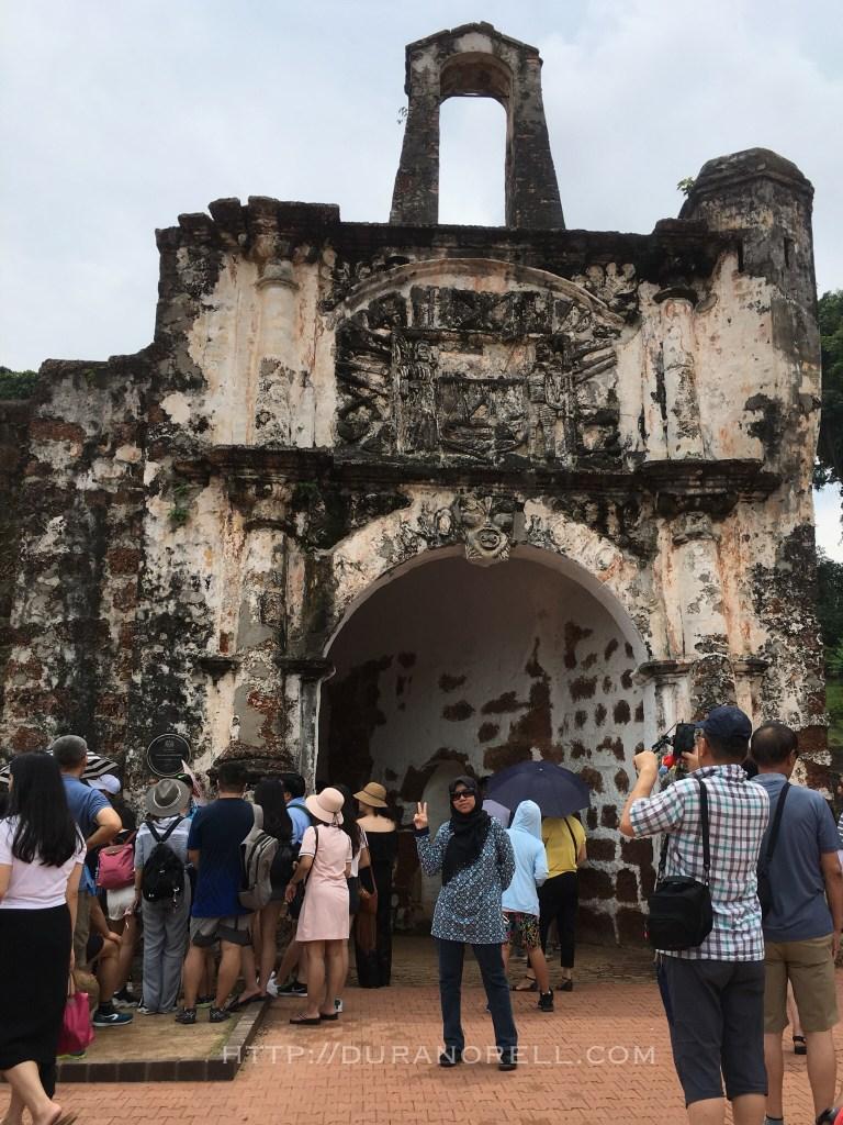 Kota A Famosa | 25 tempat menarik di Melaka untuk dilawati seisi keluarga