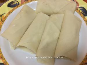 Resepi Popia Carbonara Cheese, Cara buat popia carbonara cheese, resepi kuih yang mudah dan sedap