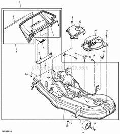 John Deere Z445 Parts Manual