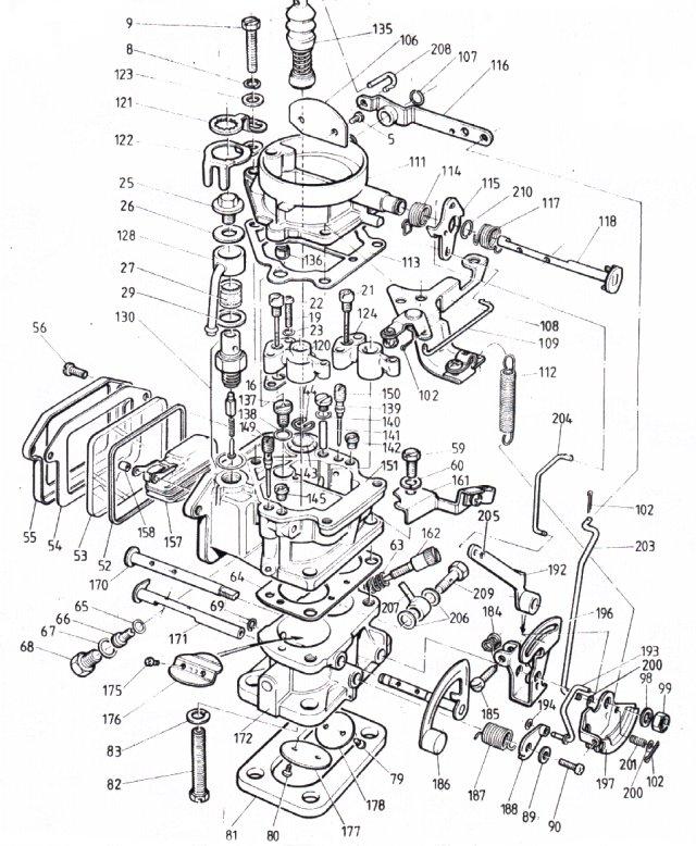 Toyota 4y Carburetor Diagram Service Manual