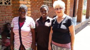 Maralise and her team in Nkhomo, Malawi