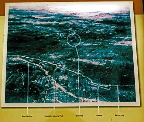 Karte-Frontlinien