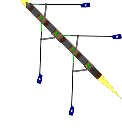 diagram of a four rowing boat  [ 1613 x 2336 Pixel ]