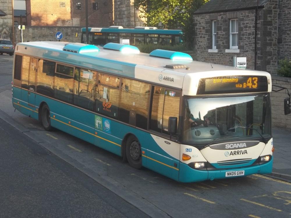 Arriva Durham Update 28/09/12