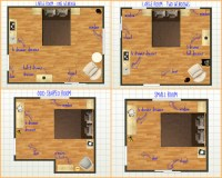How to set up your bedroom furniture.   Durham Furniture Blog