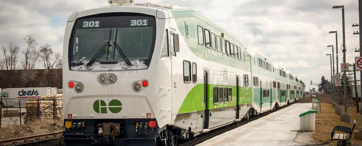 Ridership on GO Transit, UP Express down over 90%
