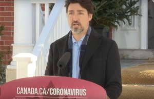 Prime Minister Trudeau addresses Canadians on the COVID-19 situation