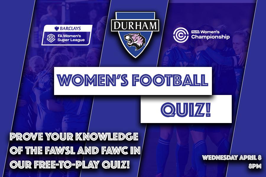 Quiz Join Our Women S Football Quiz Durham Women Fc