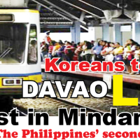 JAPAN FUNDING FOR UNDERGROUND TRANSPORT SYSTEM, LIGHT RAIL TRANSIT (LRT) IN DAVAO CITY ASSURED