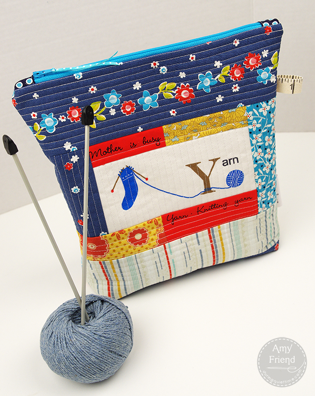 Knit Project Bag Pattern : project, pattern, Knitting, Project, Tutorial, During, Quiet