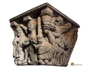 San Juan de Duero: Herodes y el Demonio