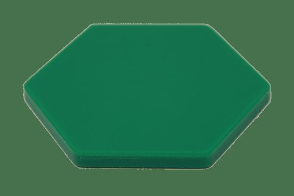 UHMW Colored Virgin Green