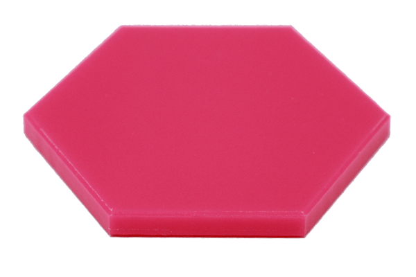 UHMW Colored Virgin Pink