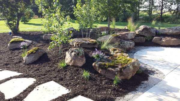 sandstone moss boulders duro
