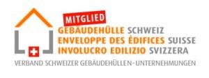 Gebäudehülle Schweiz Logo und Link zur Webseite