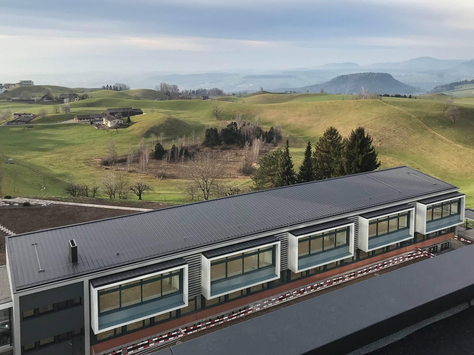 Spenglerei Kantonsschule Menzingen