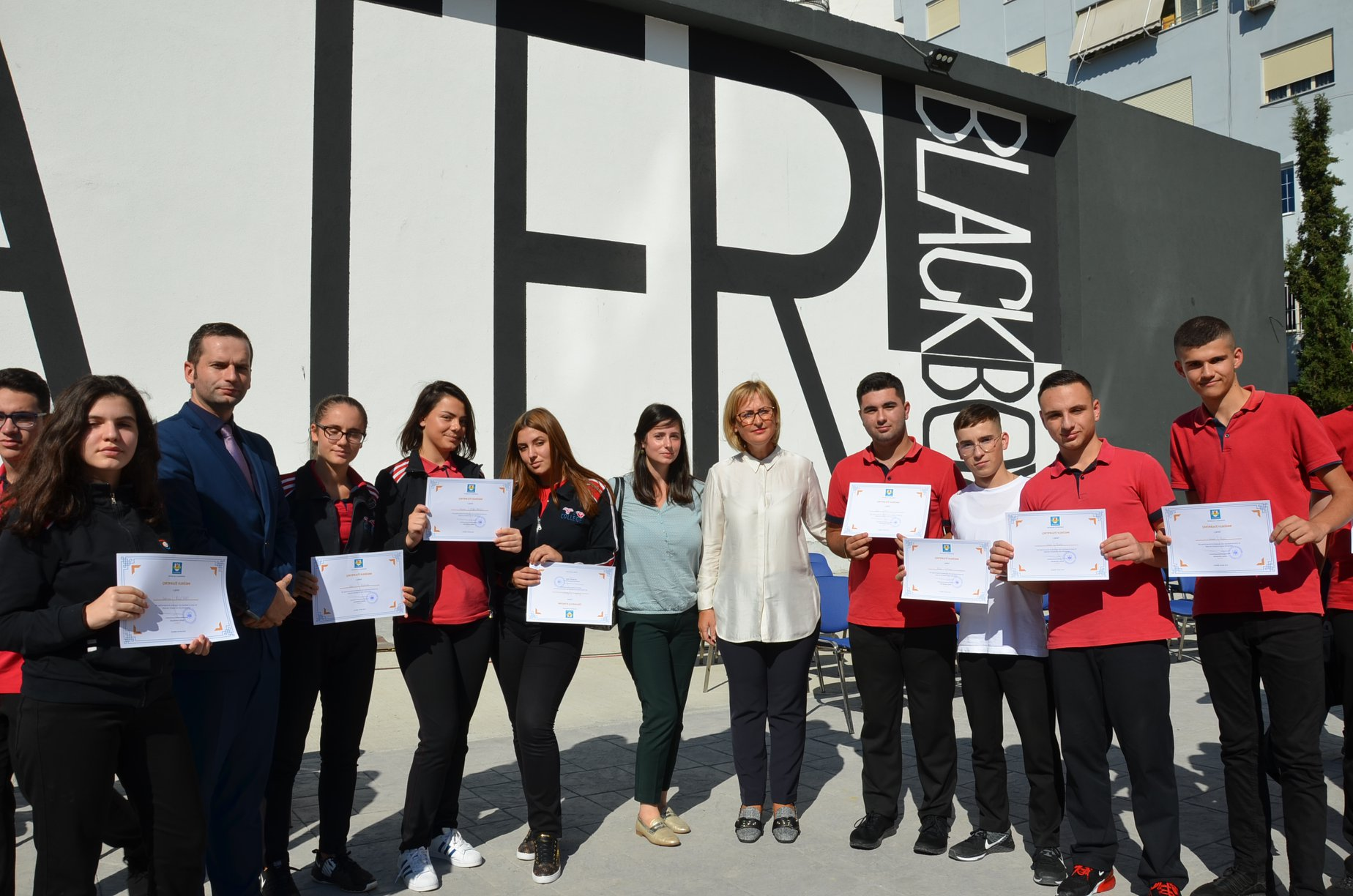 Ceremonia e ndarjes së çertifikatave për nxënësit e ekselencës