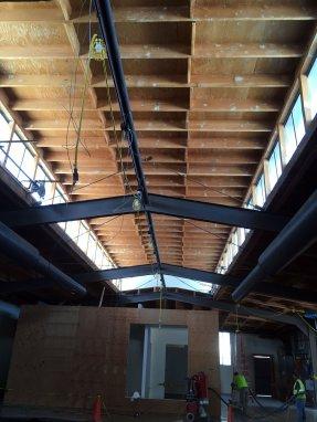 Vintage Warehouse in LA on Exposition Blvd: