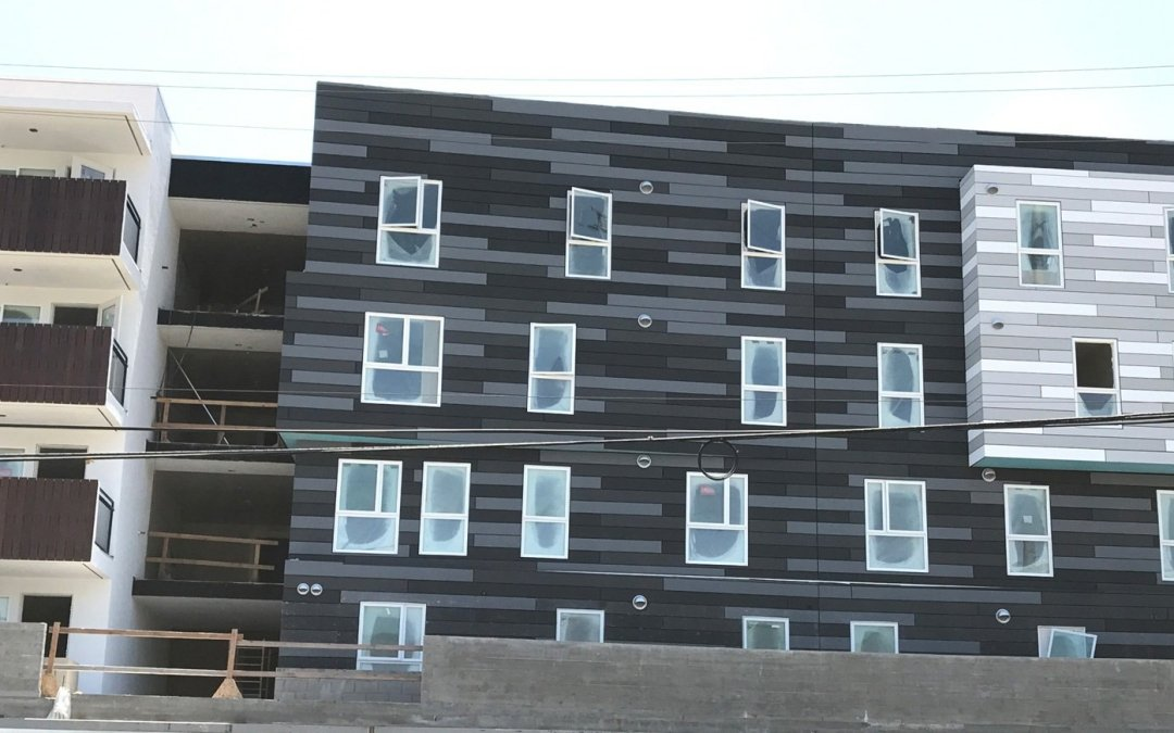 Sylmar Apartments Rain Screen Cladding