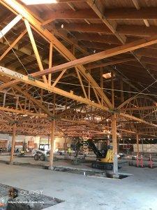 durst builders exposition warehouse renovation